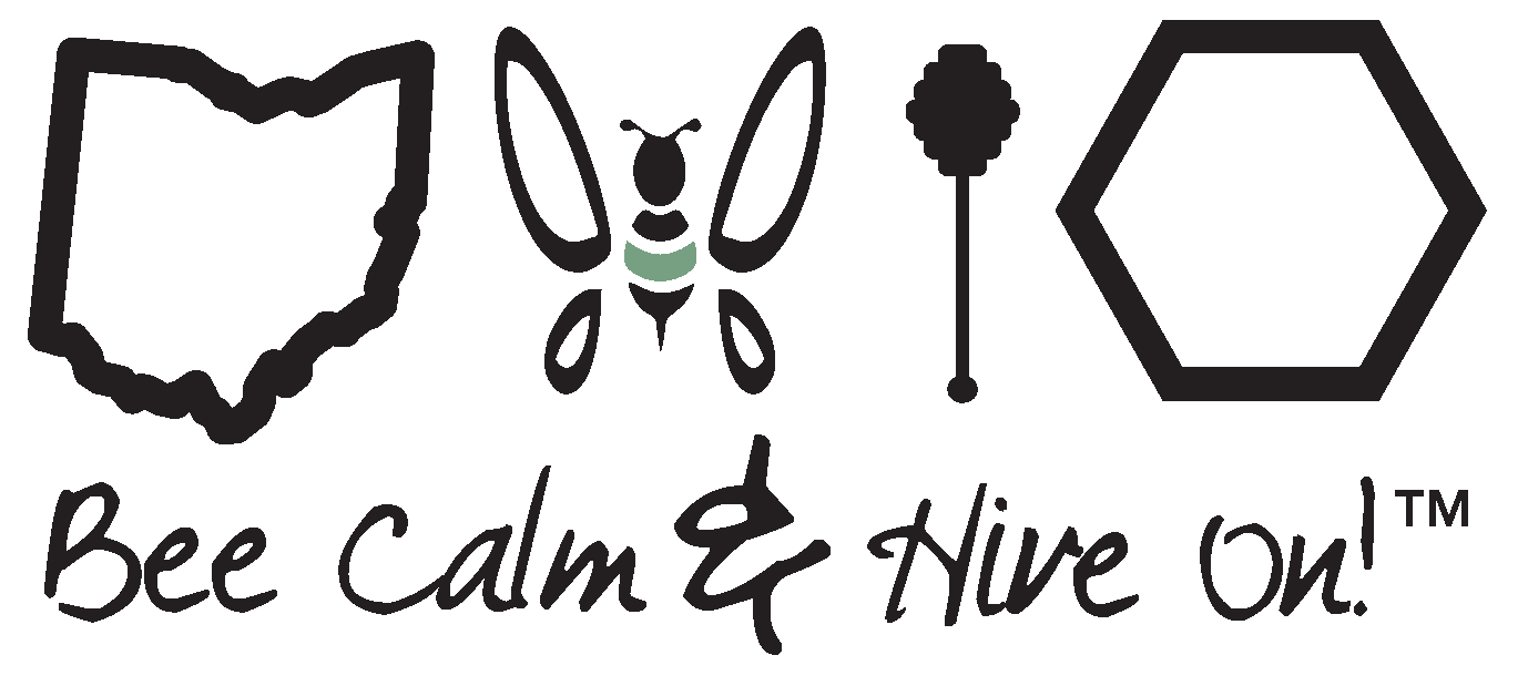 T-shirt Design Choices for Bee Calm & Hive On - 1