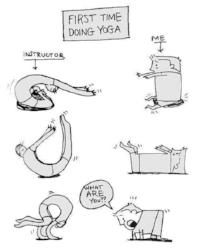 első jóga óra
