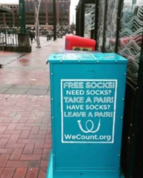 A Box of Sox located in the International District. Photo by Jessica Lum.