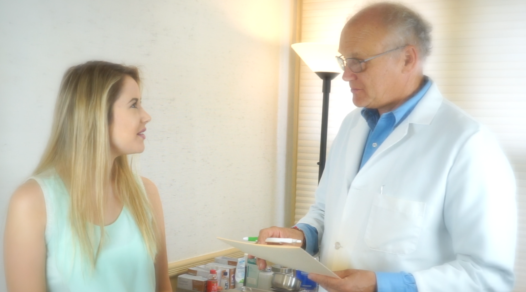 Founder,   Dr. Kadar   performs an intake interview, health history, reading your signs