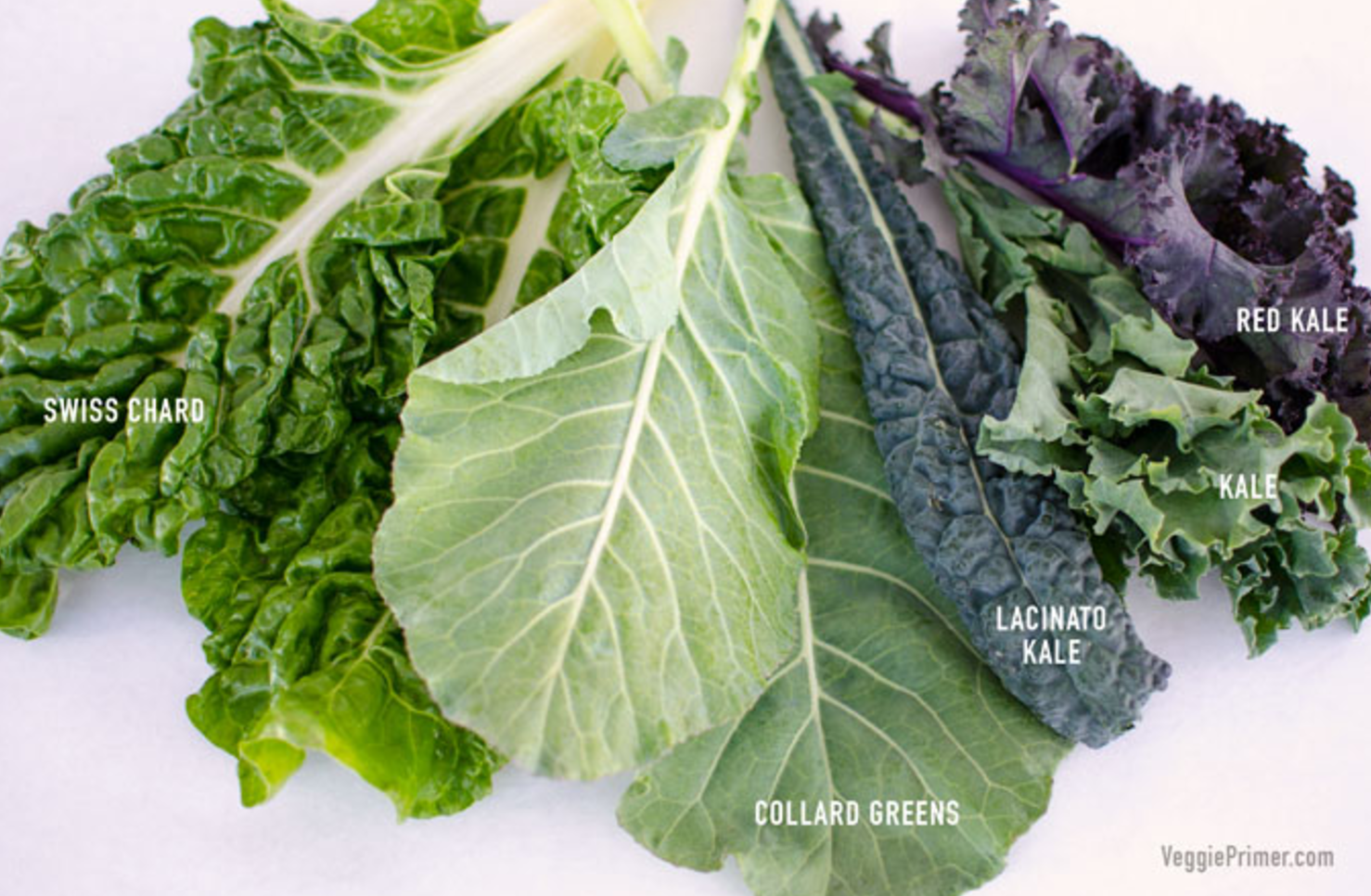 Read more about your options for eating dark leafy greens,  click here