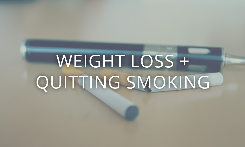weight loss and quit smoking
