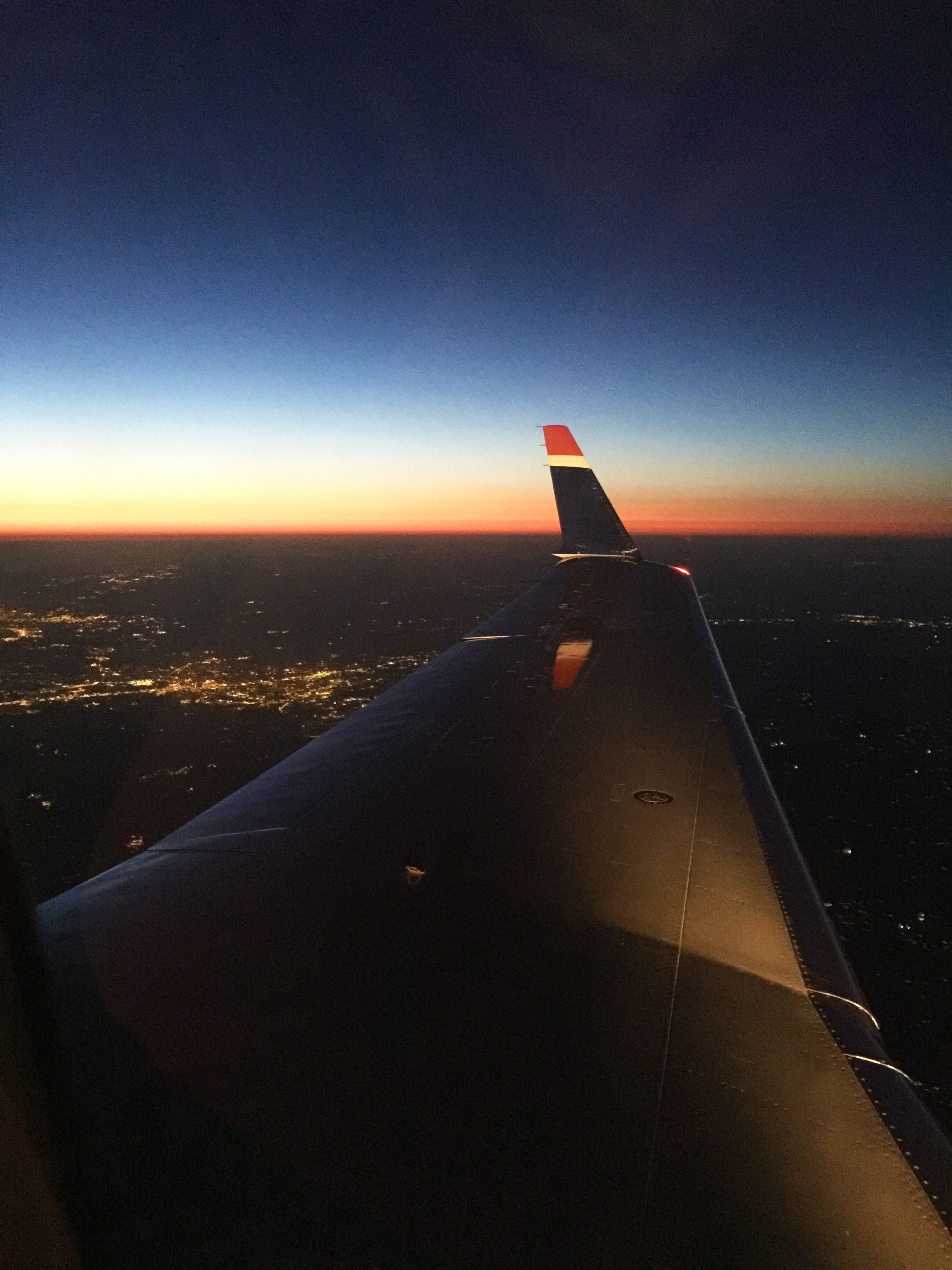 one good thing about early flights! Being able to see Gods wonders as the sun rises up over the clouds
