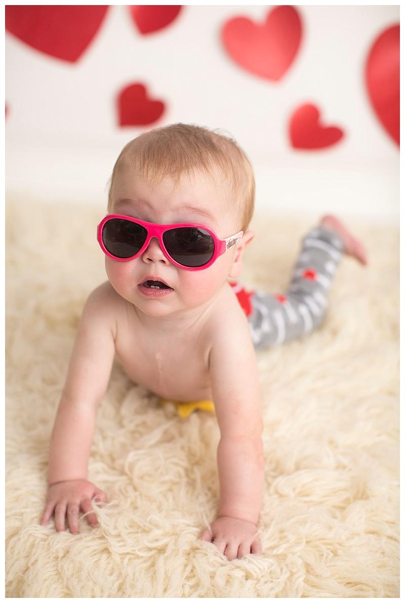 rocking and modeling his Babiators!!!!