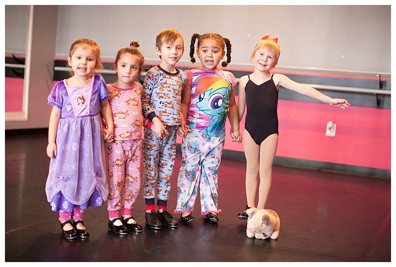 Pajama day! Opps this mama forgot and we wore regular dance clothes!!