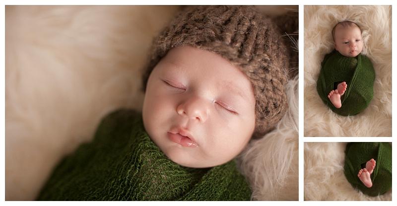Newborn baby Eddie
