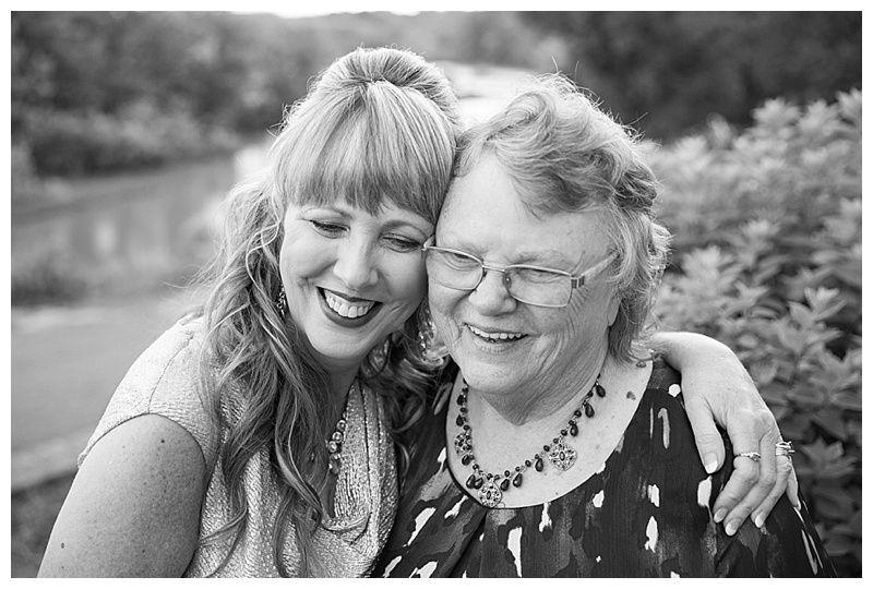 Bride and her Mom!