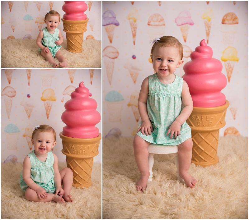 Giant ice-cream cones always make me smile!!!