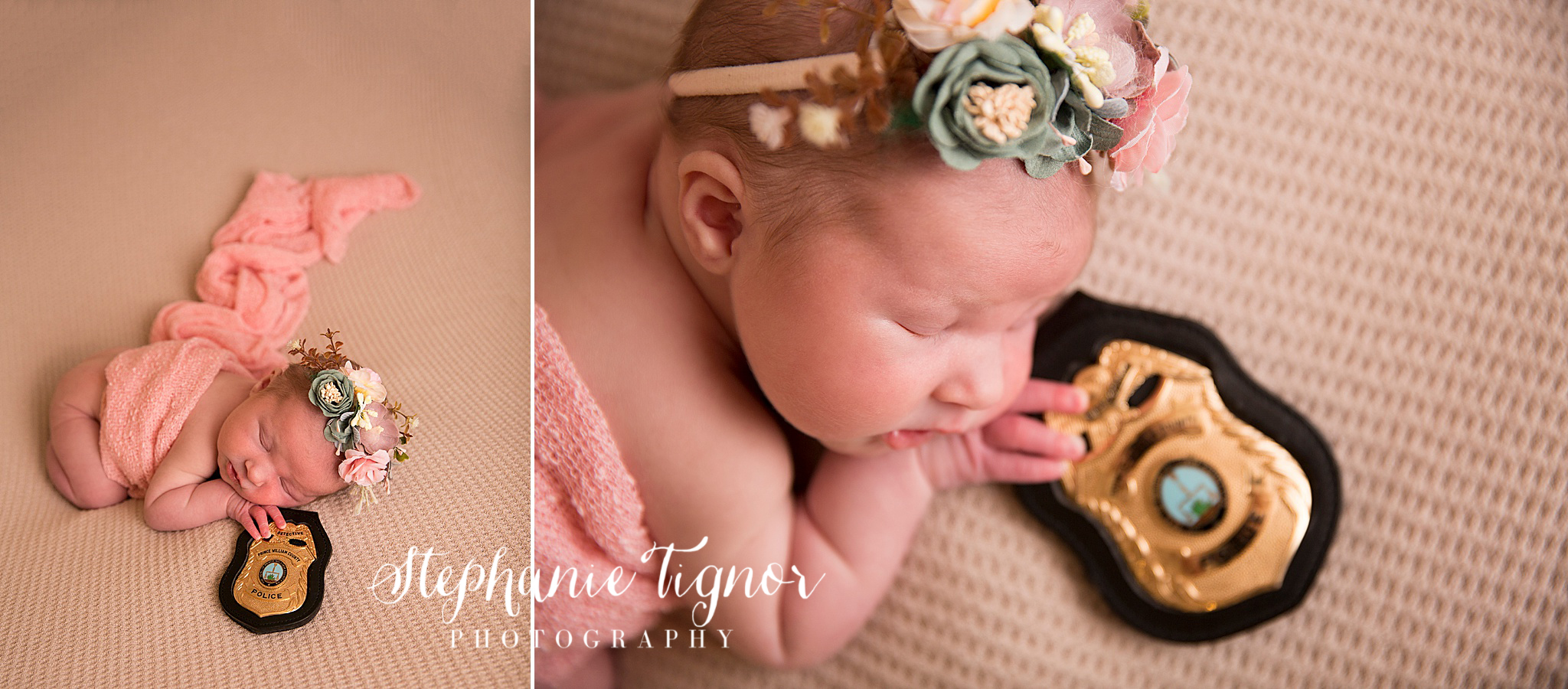 Stephanie Tignor Photography | Fredericksburg VA Newborn Photographer | Warrenton VA Newborn Photographer | Stafford VA Newborn Photographer | Newborn Photographer | Fairfax VA Newborn Photographer | Spotsylvania VA Newborn Photographer | Virginia Newborn Photographer, boho newborn session, floral newborn session, newborn portraits
