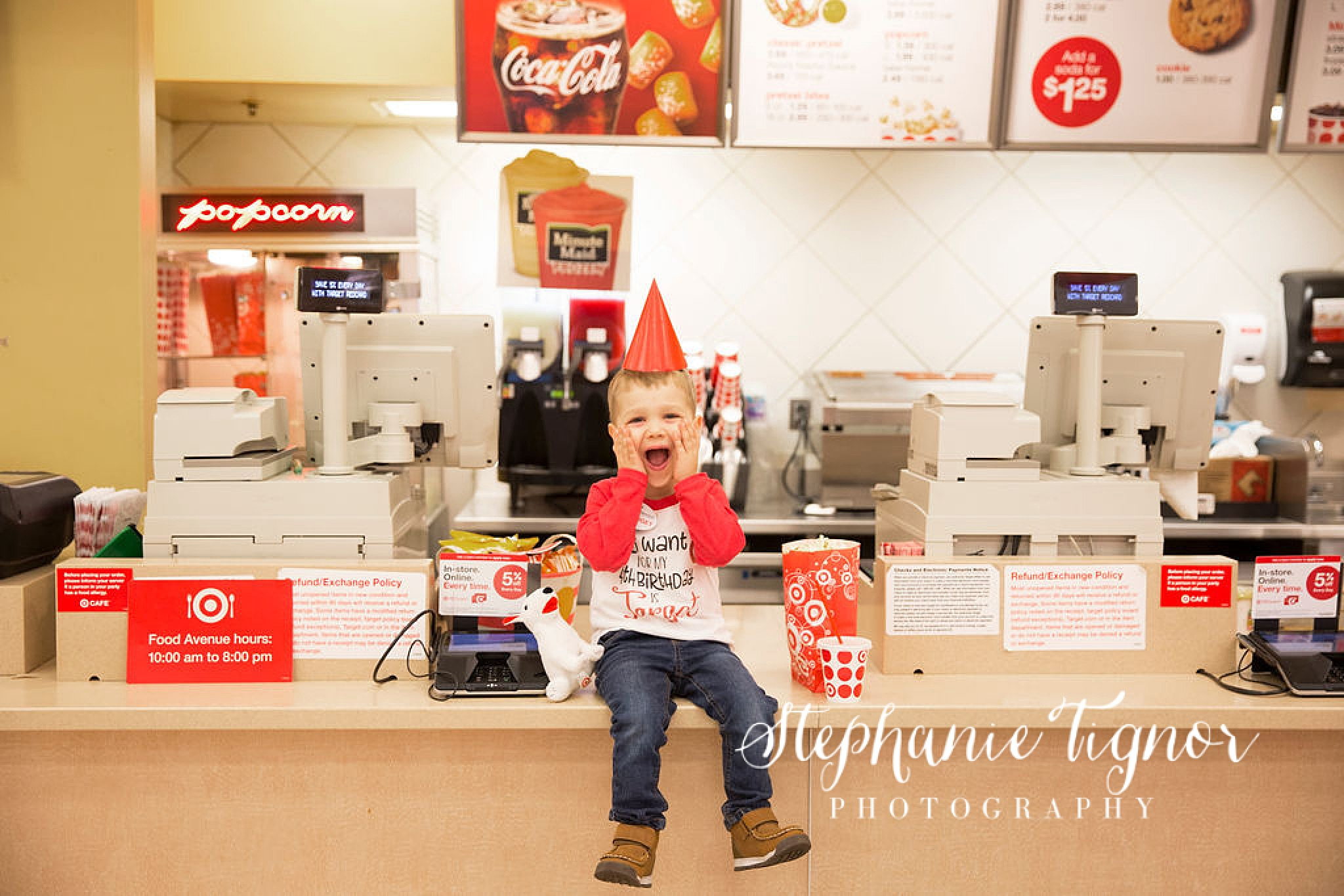 Stephanie Tignor Photography | Fredericksburg VA Birthday Photographer, 4th Birthday, Prayers for Finn, Target, Target birthday, Target birthday party, Shopping in Target