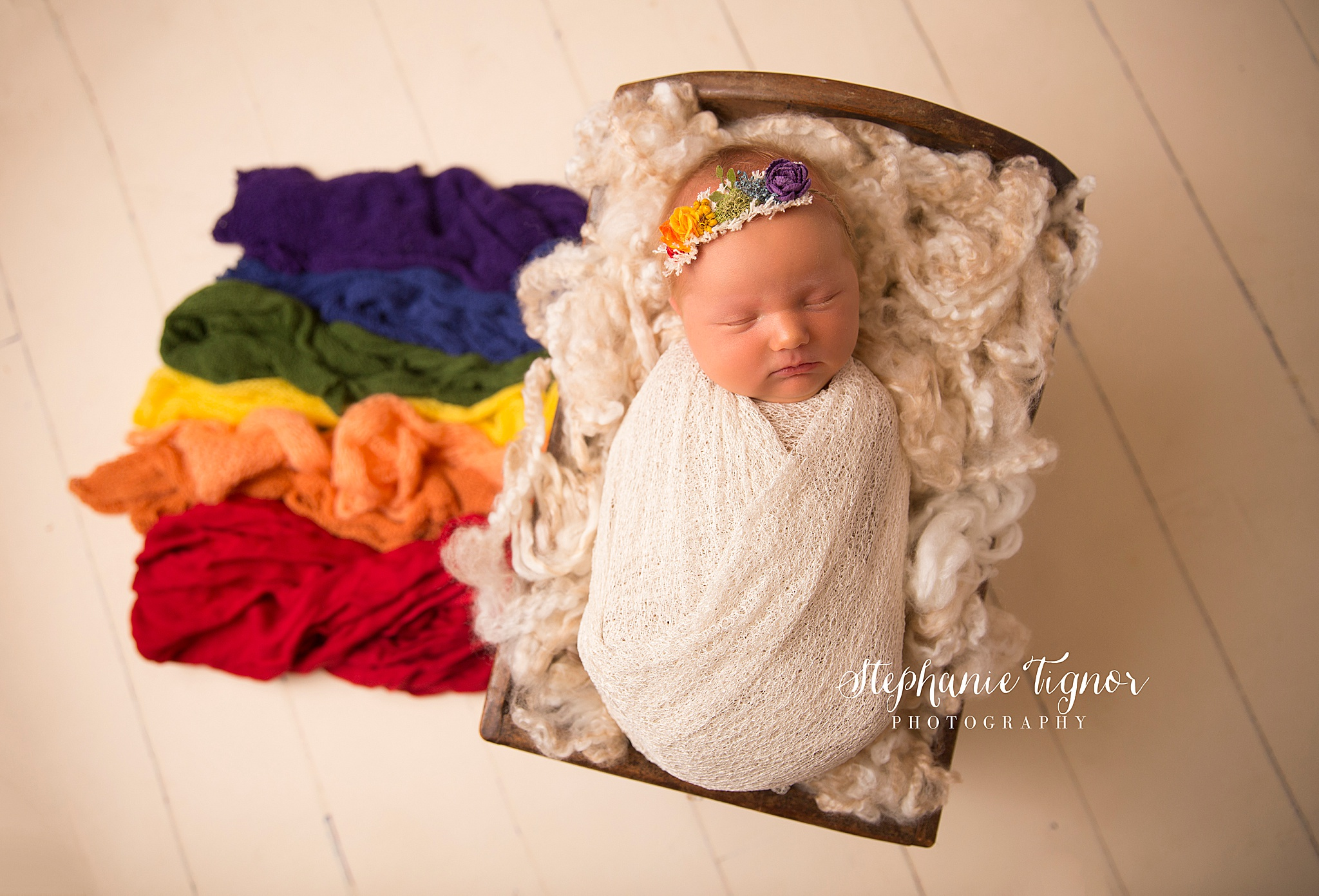 Stephanie Tignor Photography | Fredericksburg VA Newborn Photographer | Warrenton VA Newborn Photographer | Stafford VA Newborn Photographer | Newborn Photographer, baby girl newborn portraits, baby girl newborn pictures, Rainbow Baby newborn portraits, girl newborn