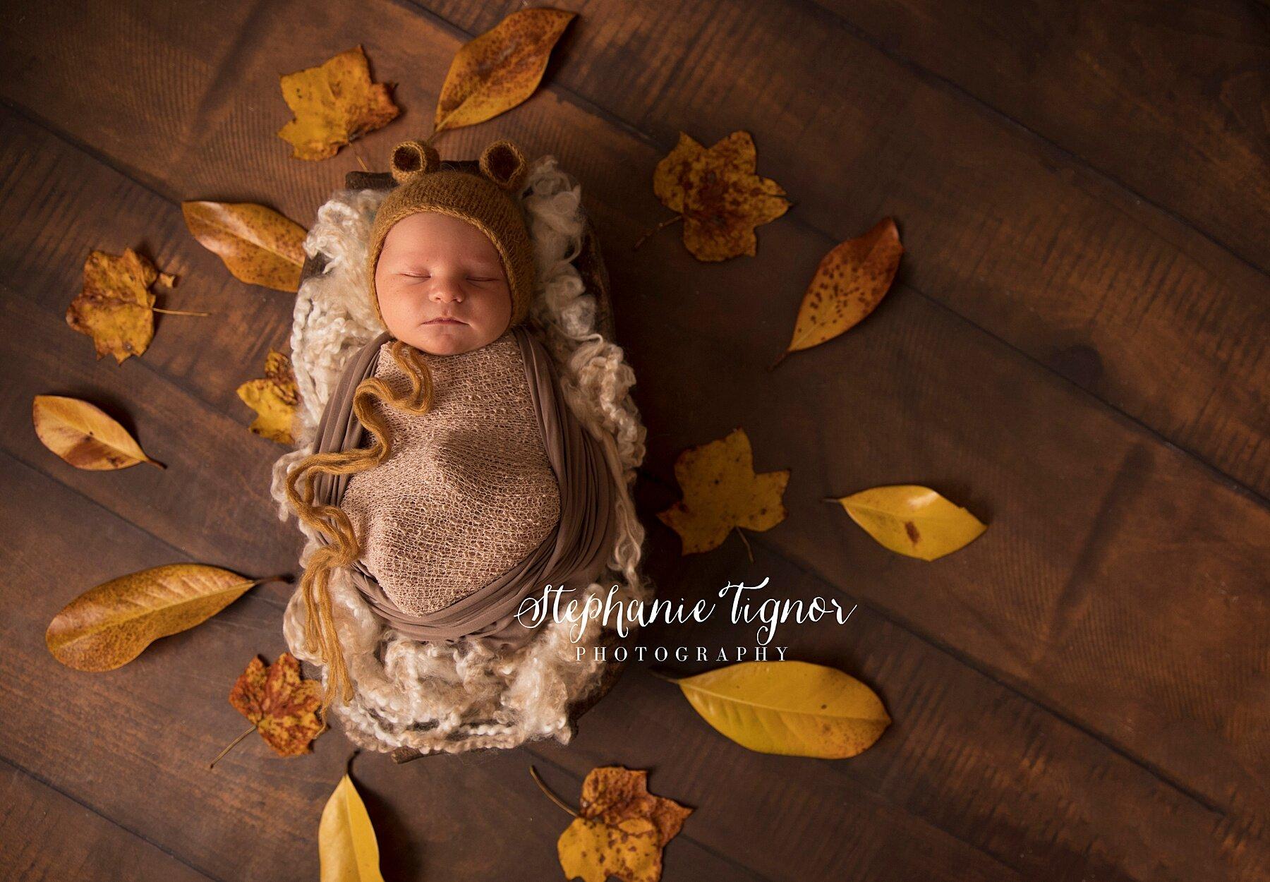 Stephanie Tignor Photography | Fredericksburg VA Newborn Photographer | Warrenton VA Newborn Photographer | Stafford VA Newborn Photographer | Newborn Photographer, fall newborn portraits, autumn portraits, fall baby boy newborn, newborn photos, Virginia newborn photographer