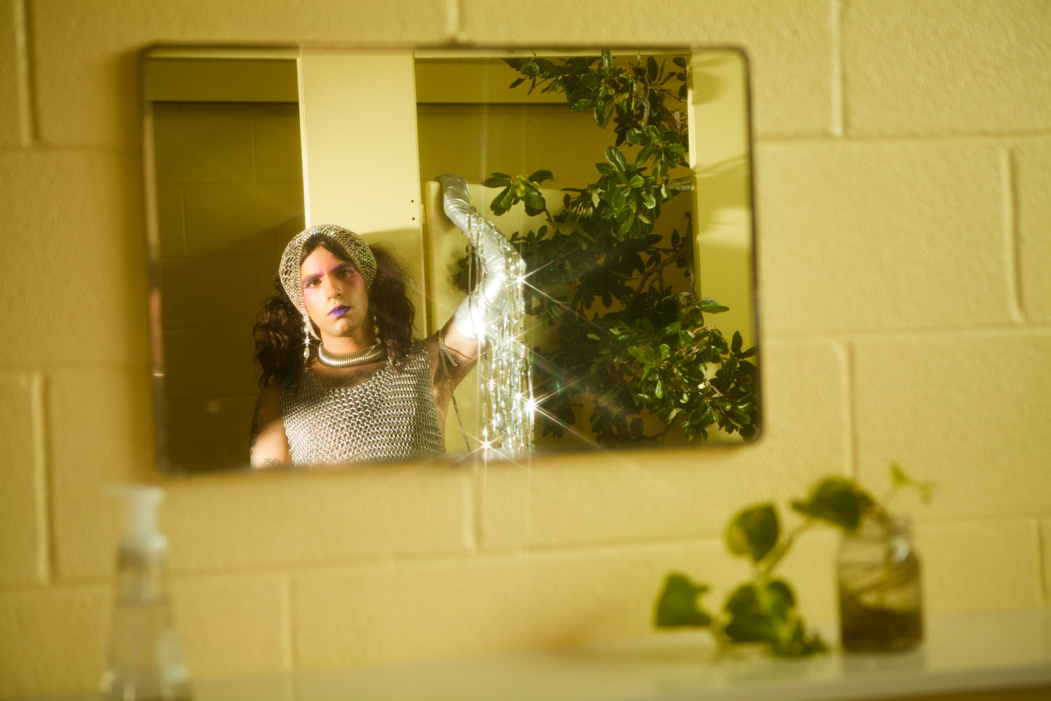 Lucia in the girls room mirror.jpg