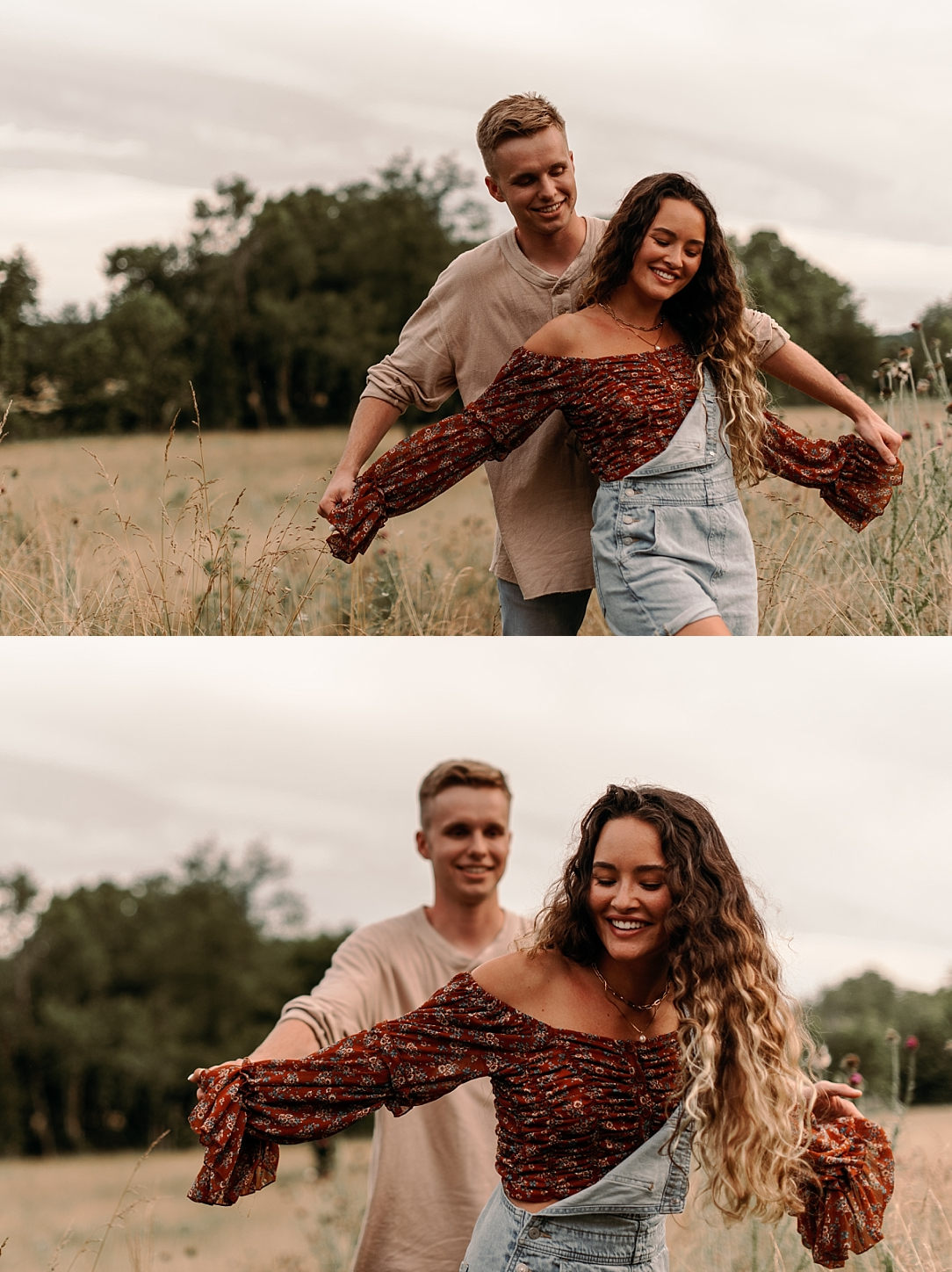 playful summer country field couple session_0058.jpg