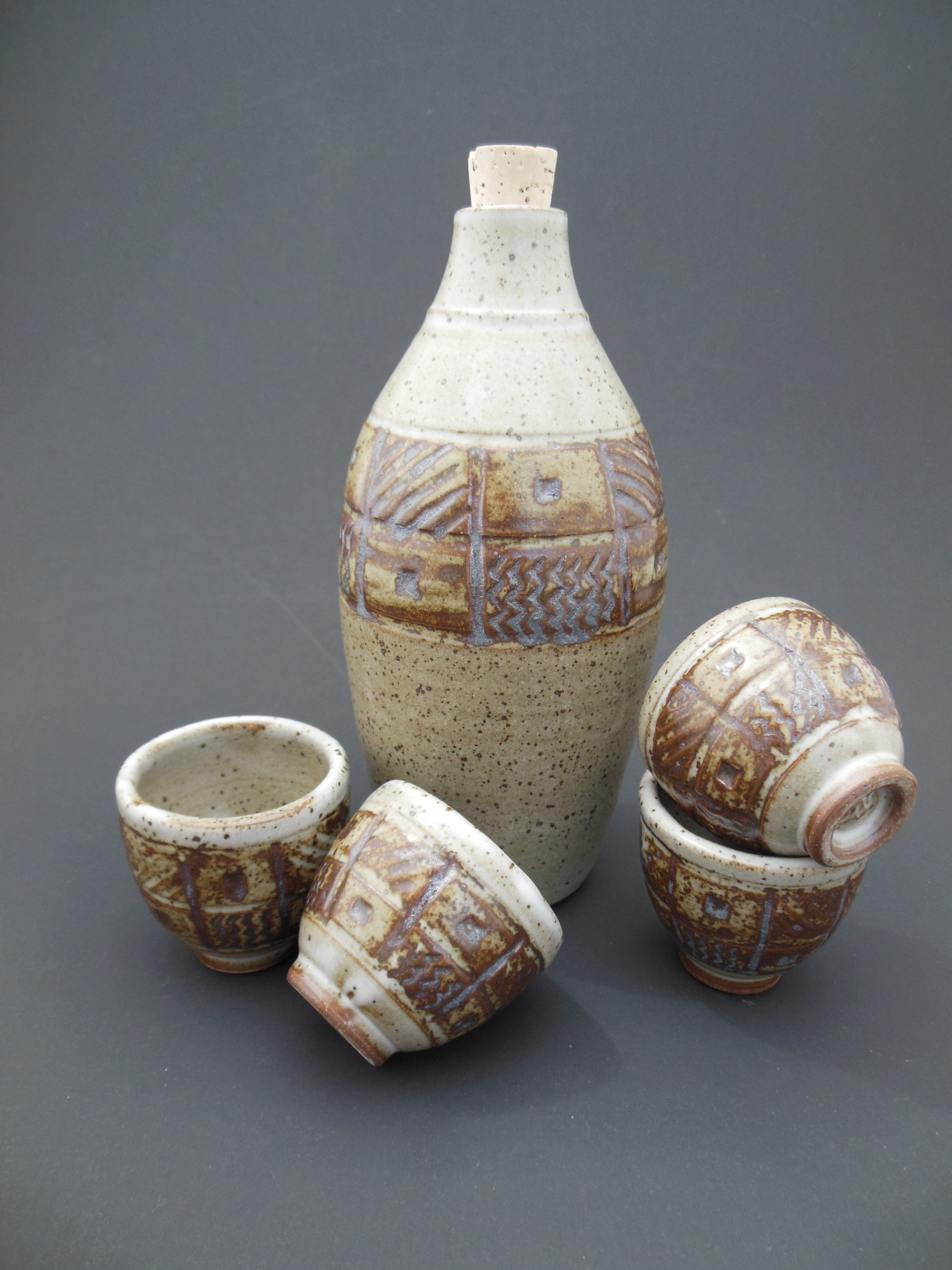 1st Place Winner ~ 3rd Annual Texas Sake Company's Pottery Competition 2013