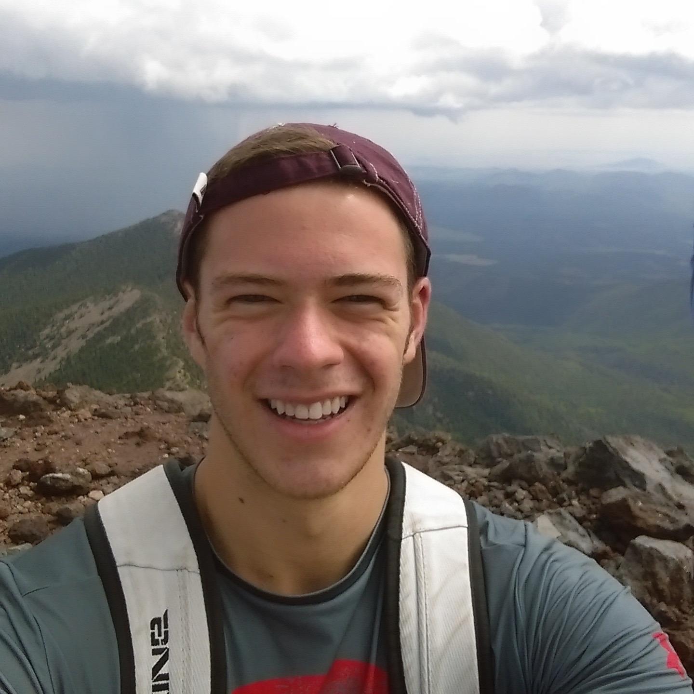Ethan Bate, undergraduate Fall 2015