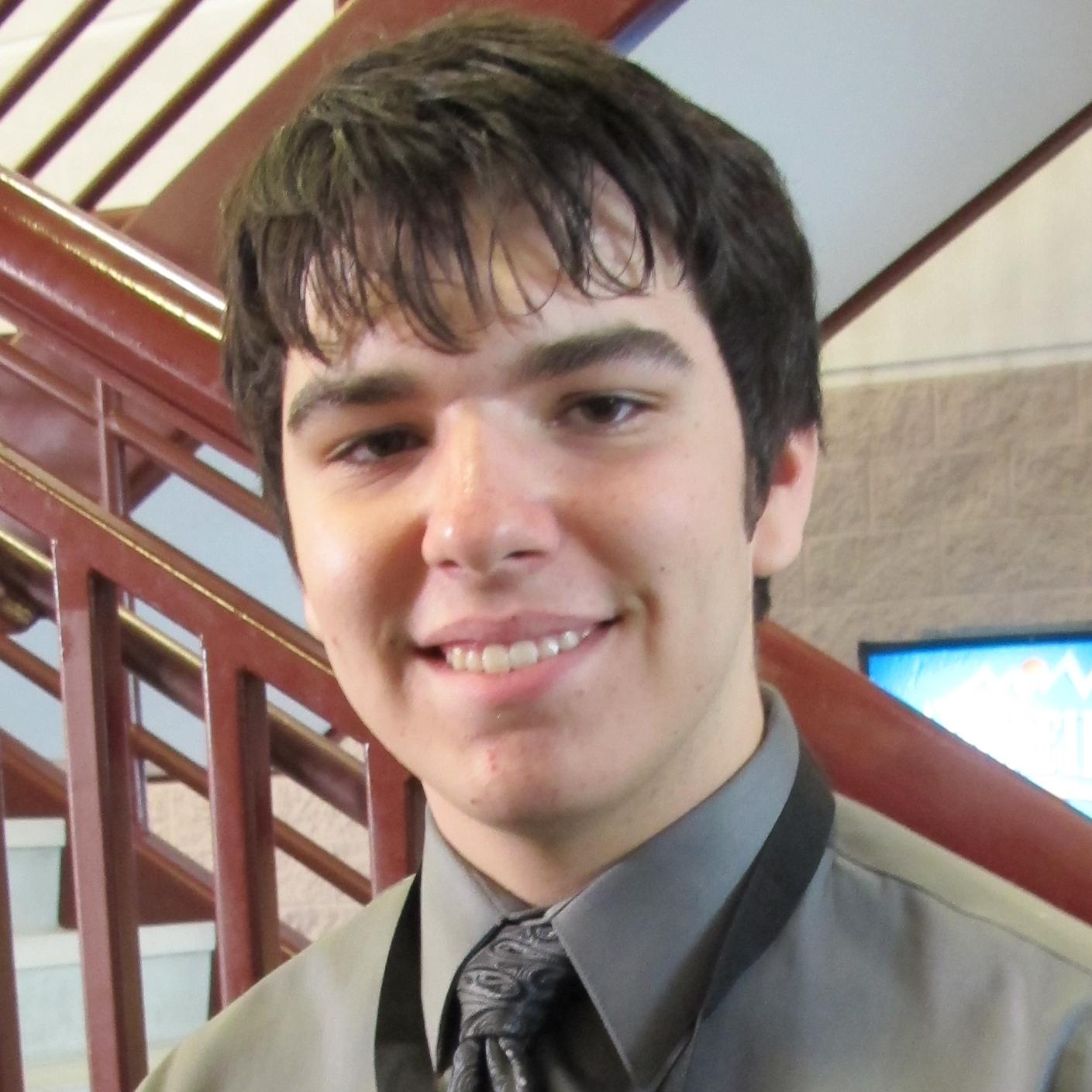 Chris Negrich, undergraduate Fall 2014-Spring 2015