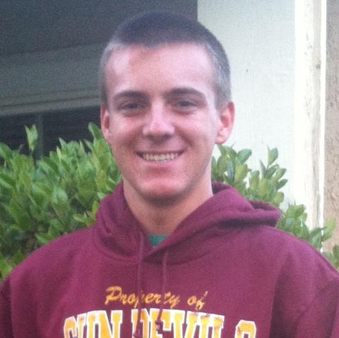 Marshall Styers, undergraduate Fall 2014-Spring 2015