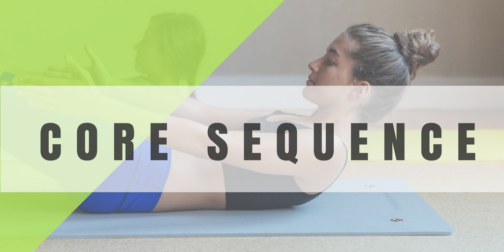 THIS SEQUENCE IS DESIGNED TO PROPERLY STRENGTHEN THE CORE AND BACK MUSCLES WITHOUT INJURY WHILE DEVELOPING ABDOMINAL STRENGTH AND AND SPINAL STABILITY.  CORE CONTROL + BACK STABILITY = FREEDOM FROM BACK PAIN