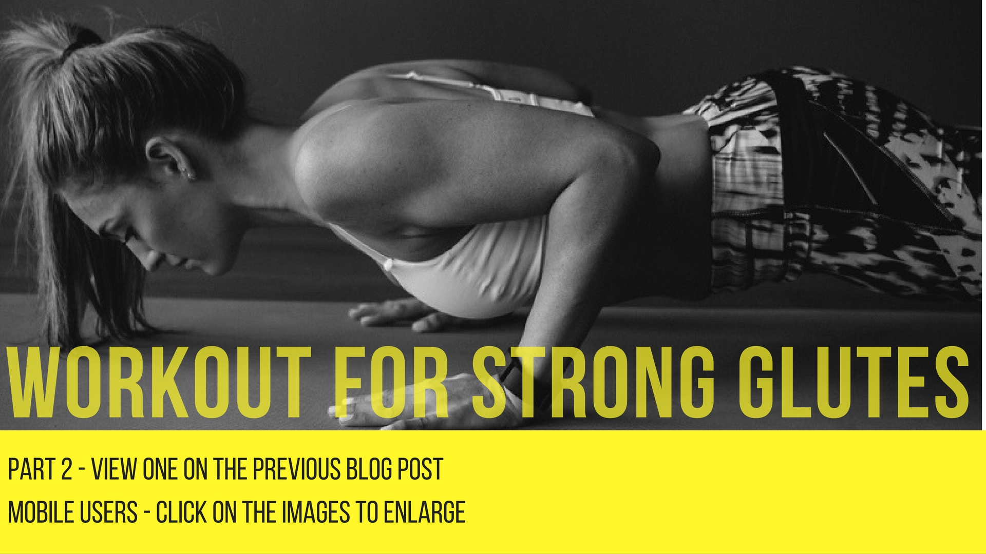 strong glutes