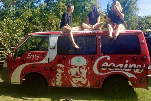Just the van, no cocaine!