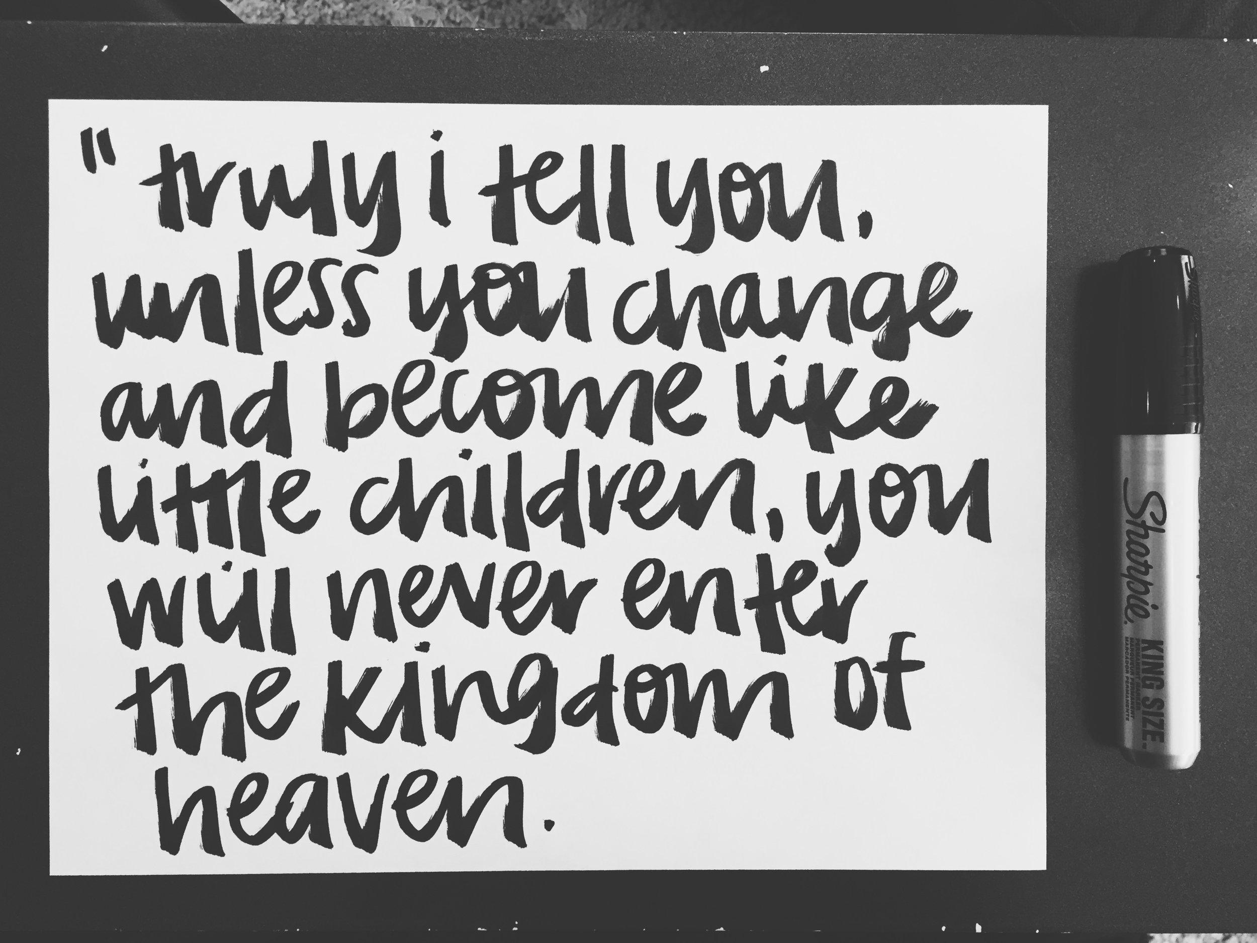 matthew 6:3