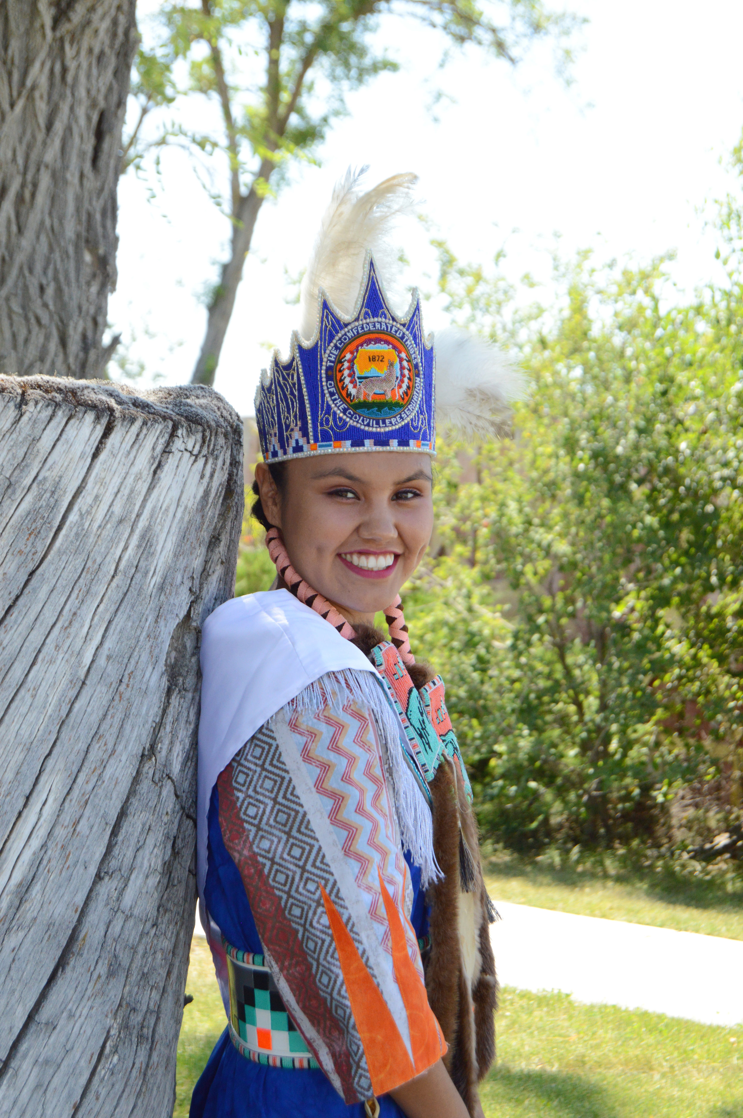 2017-2018 Miss Colville Confederated Tribes, Kemea Pino