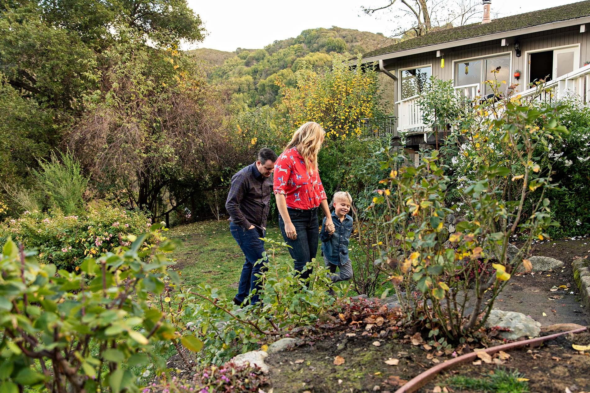 sharon kenney family photography garden
