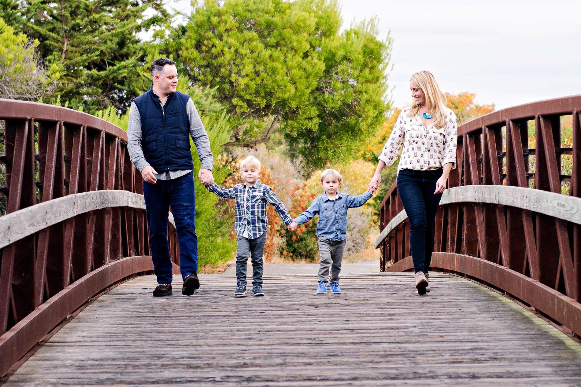 fall family portrait bay area