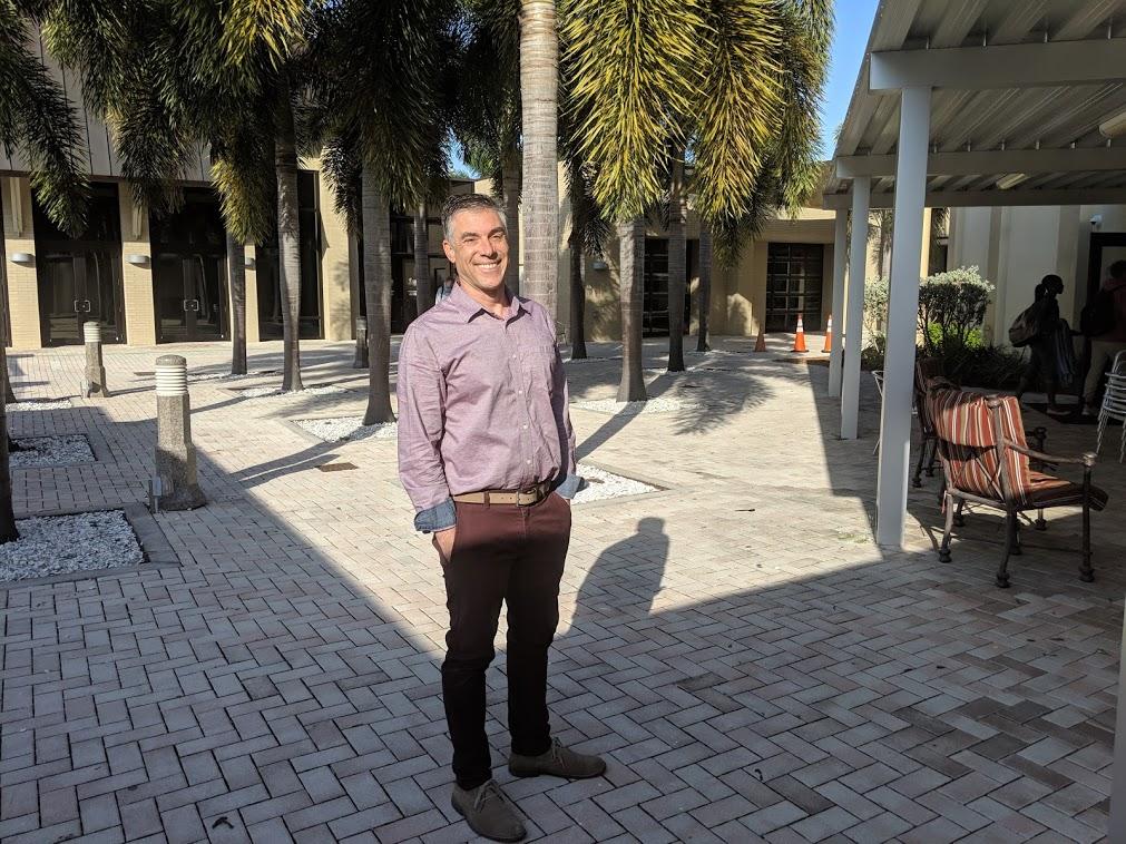 Dr. Brian Botts, Principal of Florida SouthWestern Collegiate High School, Fort Myers, Florida