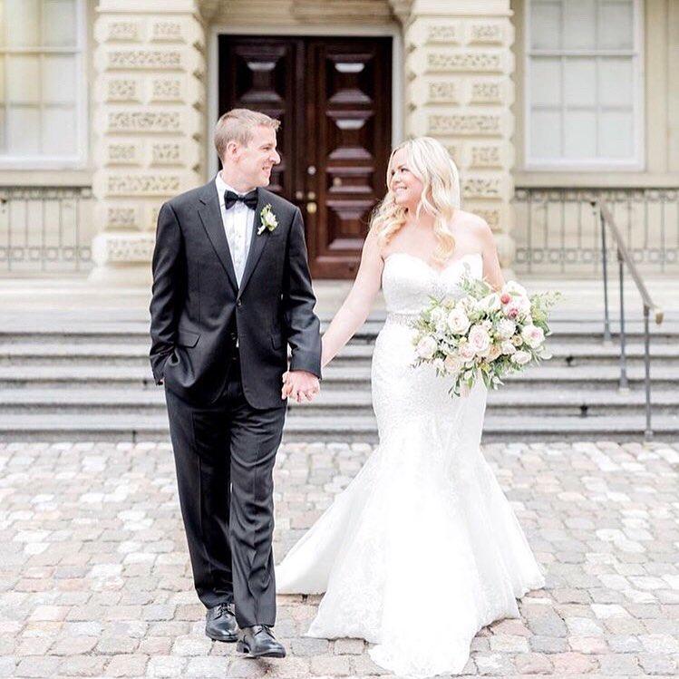 #ferrebride Katelyn wearing an Allure Bridal wedding dress
