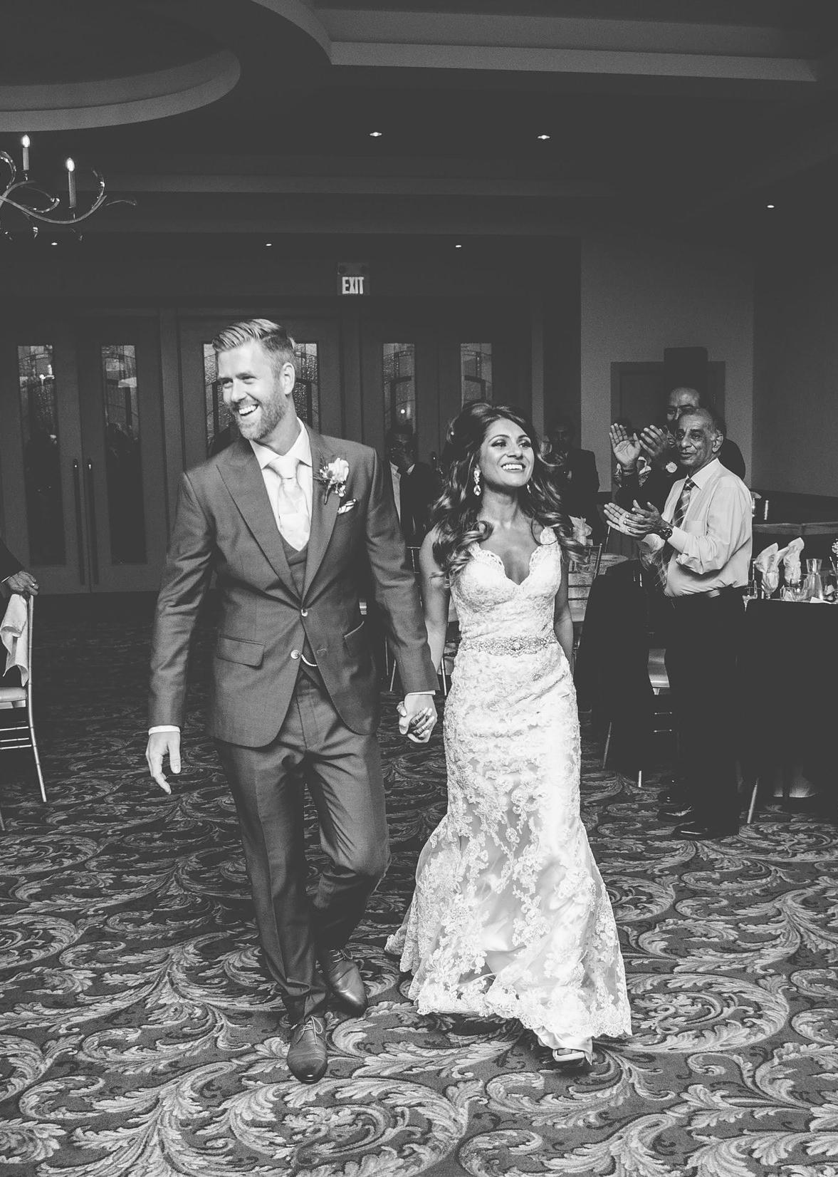 #ferrebride Sarah wearing Allure Bridals