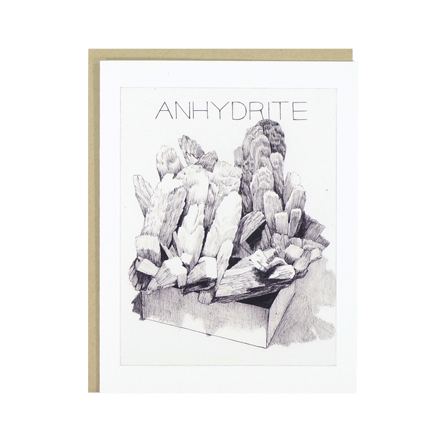 anhydrite card