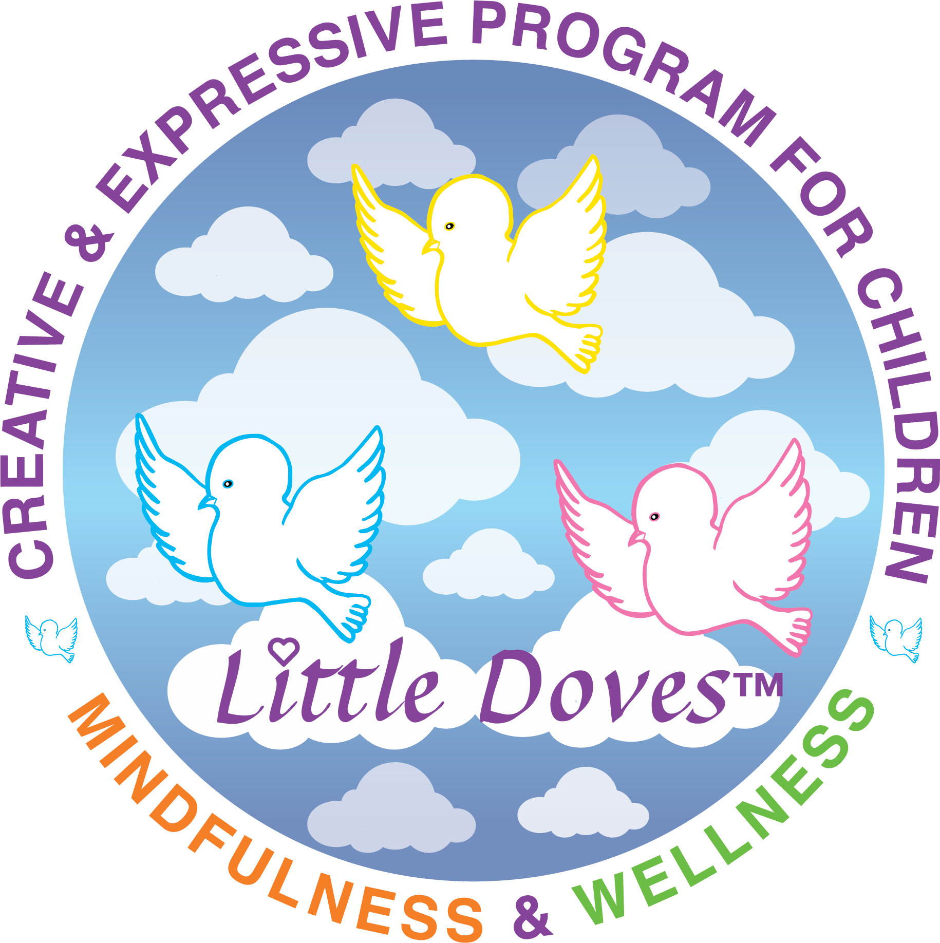 White Little Doves Logo 2017 Outlined.png