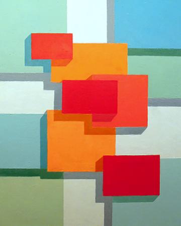 Stephen Silver - Geometric Layers Painting.jpg