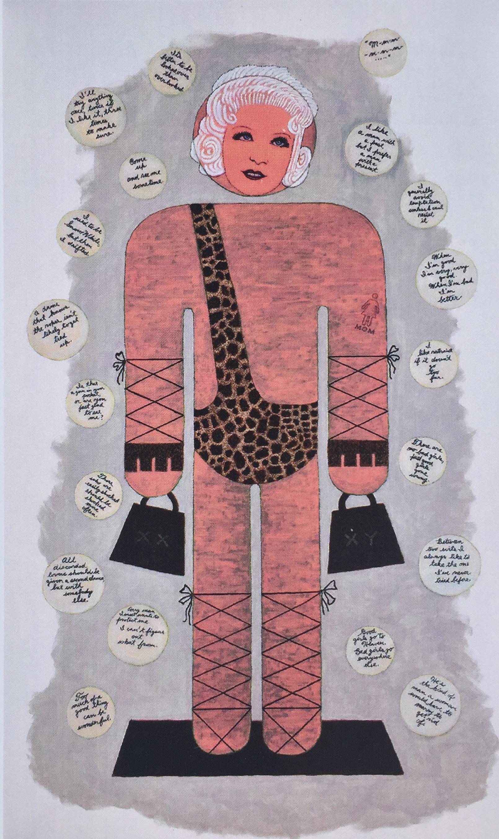 Tom Stocker Painting - Mae West.jpg