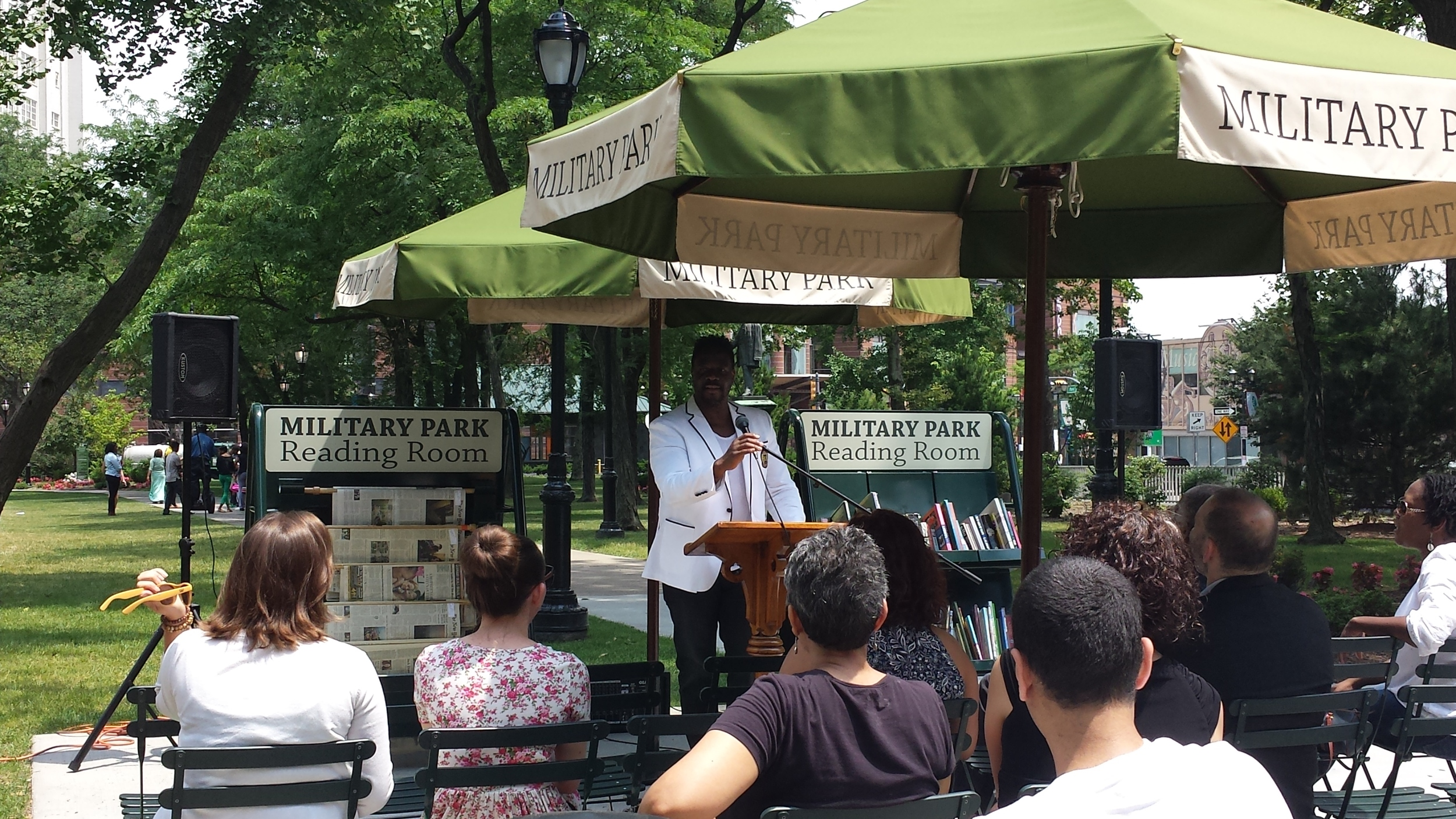 Lunchtime Poems with the Dodge Poetry Festival.jpg