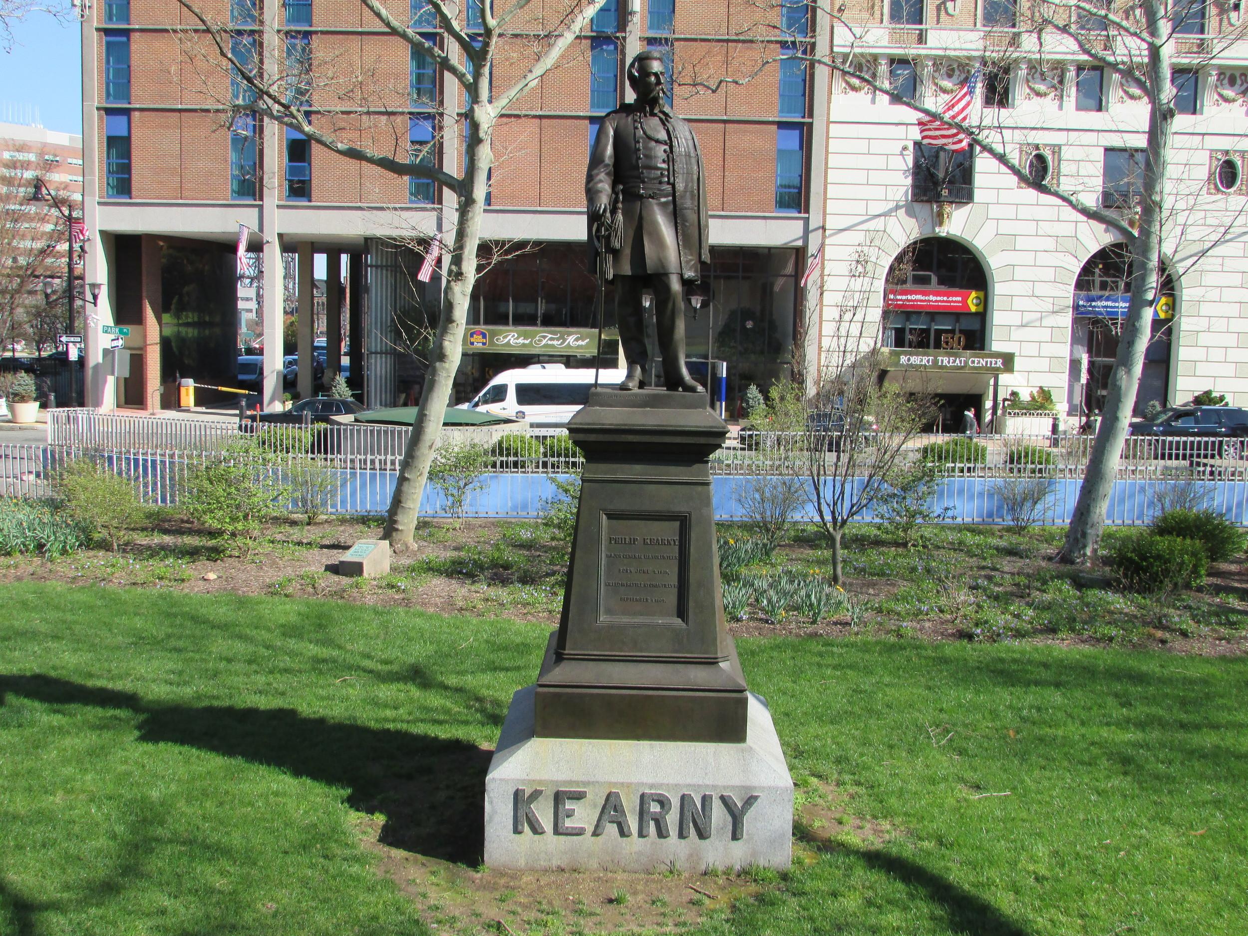 Military Park Philip Kearny Monument