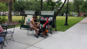 Reading Room in Military Park
