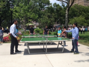 Ping Pong in Military Park