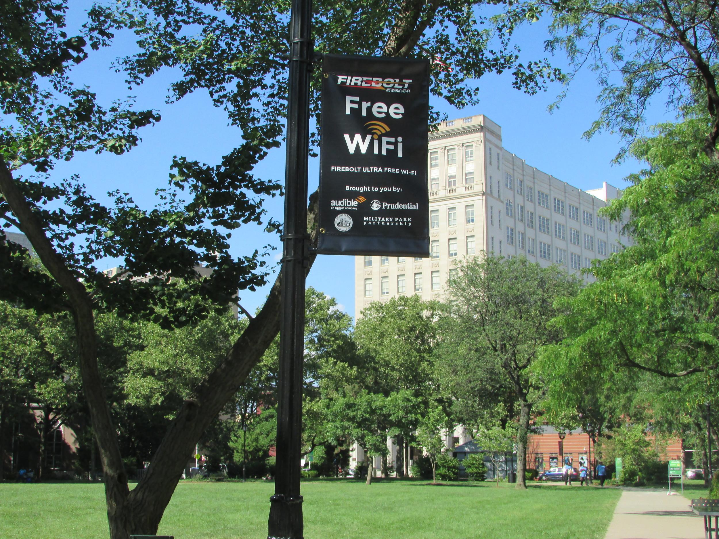 Free WiFi Military Park