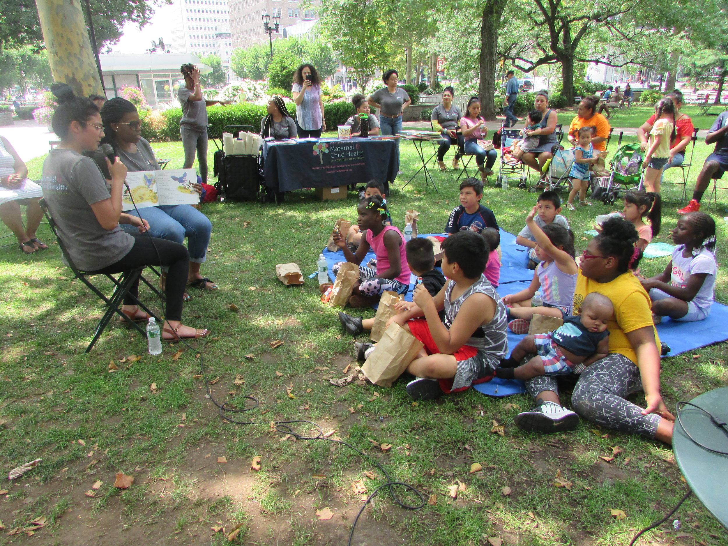 Storytime with Partnership for Maternal and Child Health