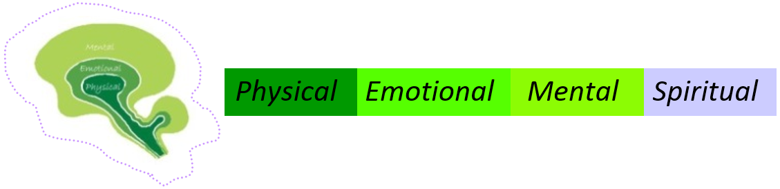 Mental,  Emotional,  Physical, and Spiritual Well-being
