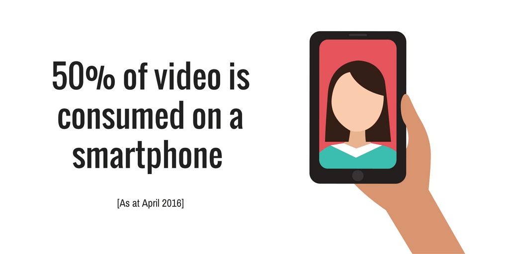 Video smartphone data 2016