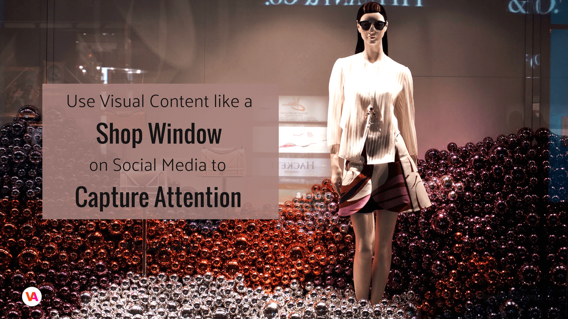 Visual content is like a shop window for business online