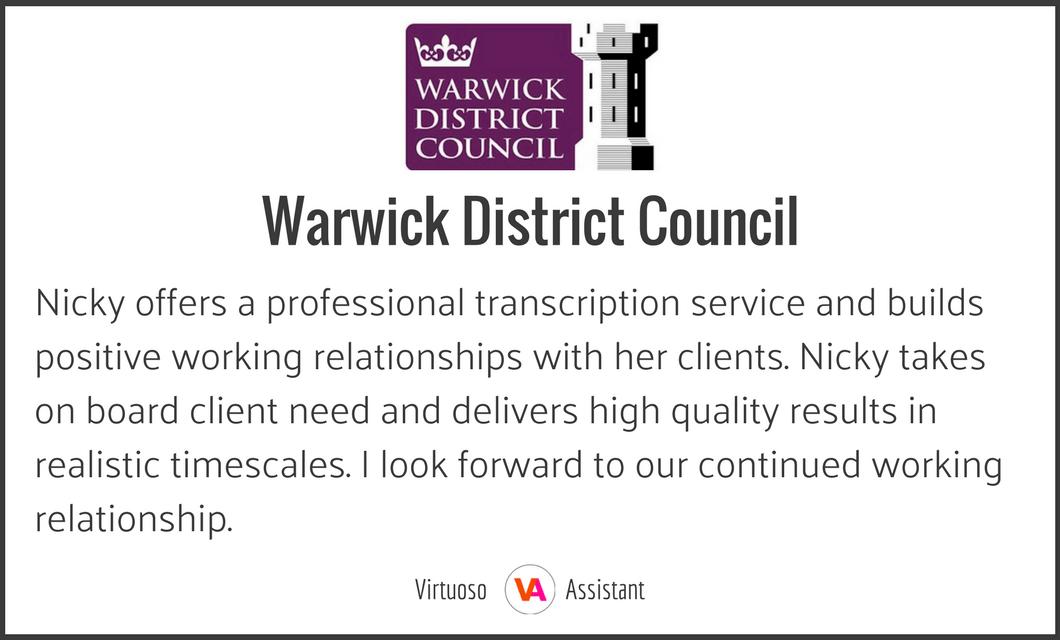 Warwick District Council Testimonial.png