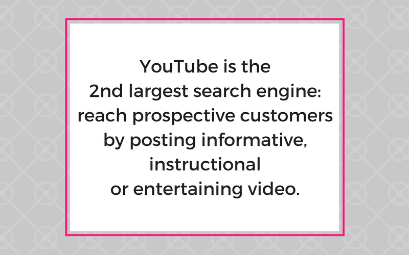 YouTube is the second largest search engine.png