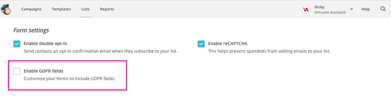 How to Enable MailChimp GDPR form fields.png