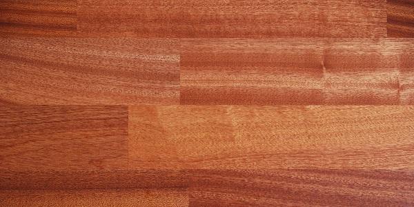 Installed Khaya Floor pattern