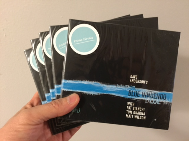 A fistful of DIY promo CDs